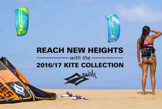 Reach New Heights with the 2016-17 Naish Kite Collection